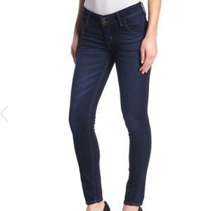 Hudson Jeans Collin Flap Skinny Jean Dark Was 28